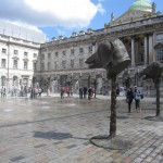 photo taken at Somerset House of Circle of Animals