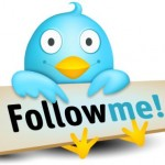 cartoon Twitter Follow Me bird