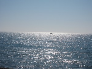 a photo of the sea at Brighton