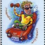 Aries Zodiac Stamp