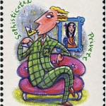 Capricorn Zodiac Stamp