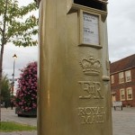 Gold Post Boxes, Astrology And The London Olympics 2012