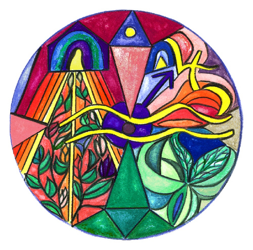 Aquarius Mandala