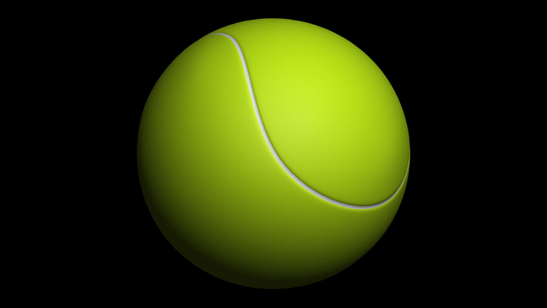 Big Green Tennis Ball