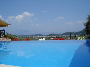 astrology courses, infinity pool