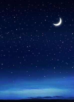 crescent moon desktop wallpaper