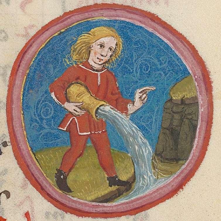 Aquarius.15th century