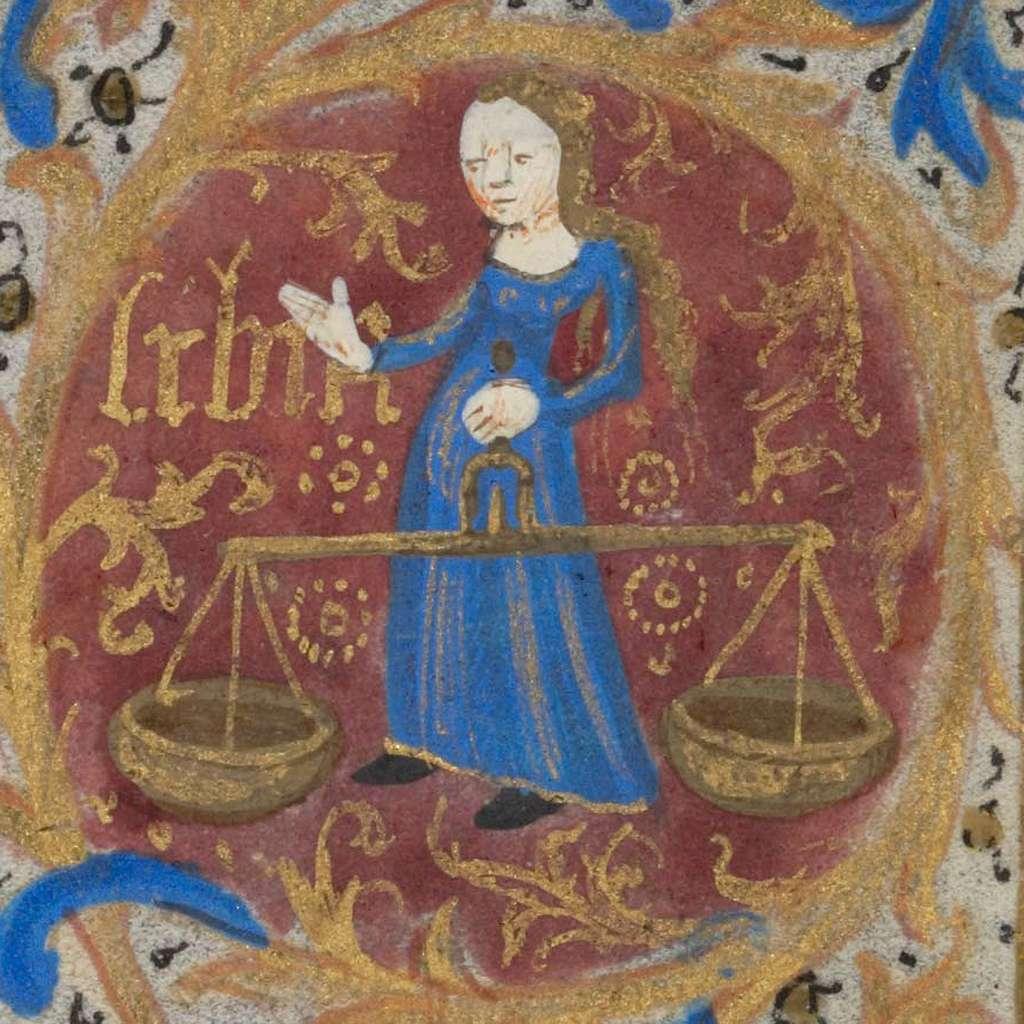 Libra.15th century