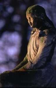 cemetery, girl