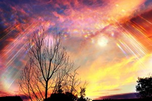 light, sky