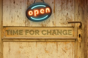 Open - Time for change