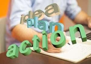 idea, plan, action, Mercury turns direct