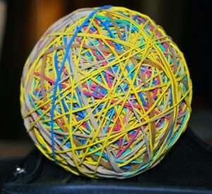 rubber ball, Libra