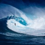 Surfing The Solar Eclipse In Pisces