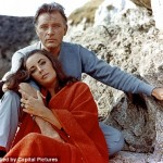 a photo of Elizabeth Taylor and Richard Burton