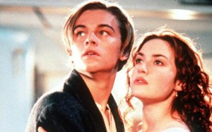 photo of Leonardo DiCaprio and Kate Winslet in Titanic