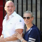 photo of Zara Phillips and Mike Tindall