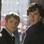 Benedict Cumberbatch and Martin Freeman in Sherlock Holmes