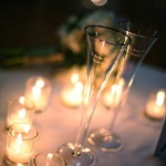 photo of champagne flutes