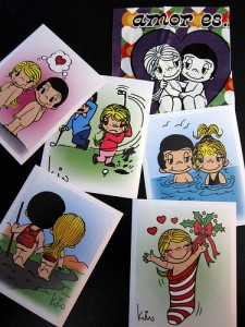 Love Is... cards