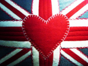 Union Jack Love Heart