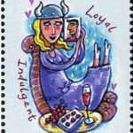 Taurus Zodiac Stamp