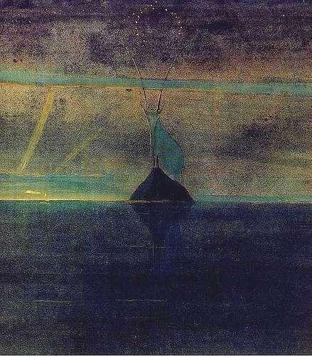 Capricorn Oil Painting
