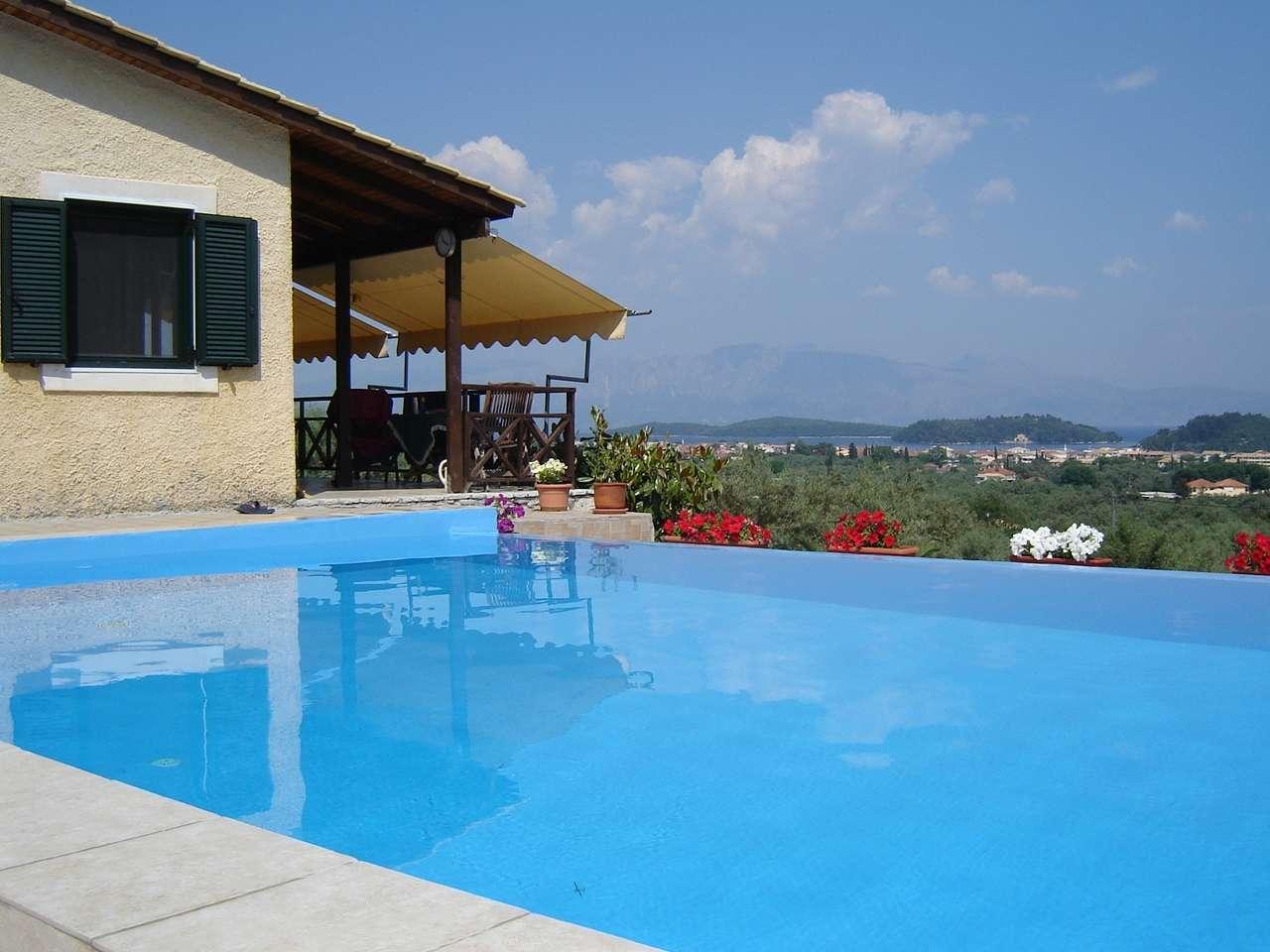 Infinity Pool. Villa Jorgos