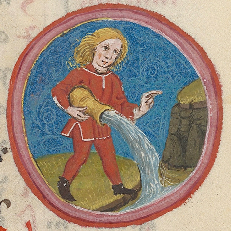 Aquarius.15th century