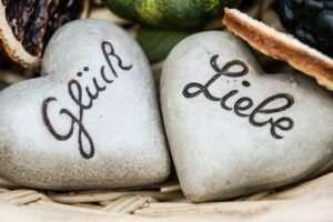 Glueck (Happiness) & Liebe (Love)
