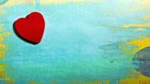 red heart, Venus retrograde