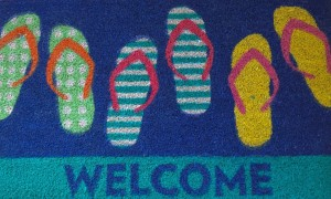 welcome mat, Cancer
