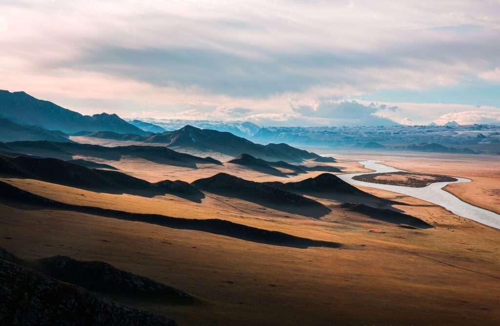 Sagittarius, mountains
