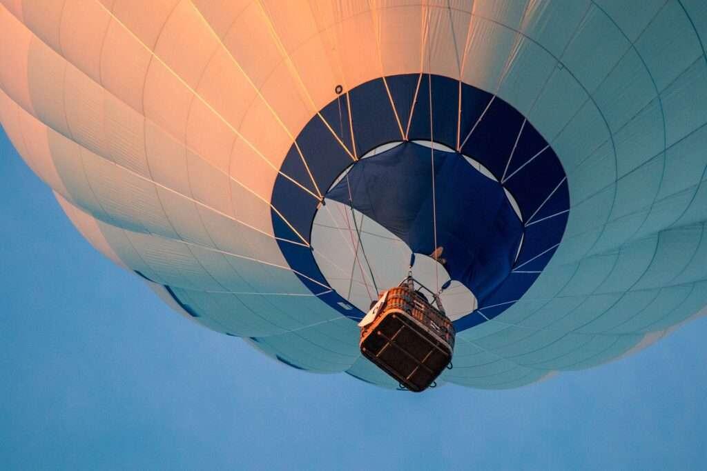 Sagittarius, hot air balloon