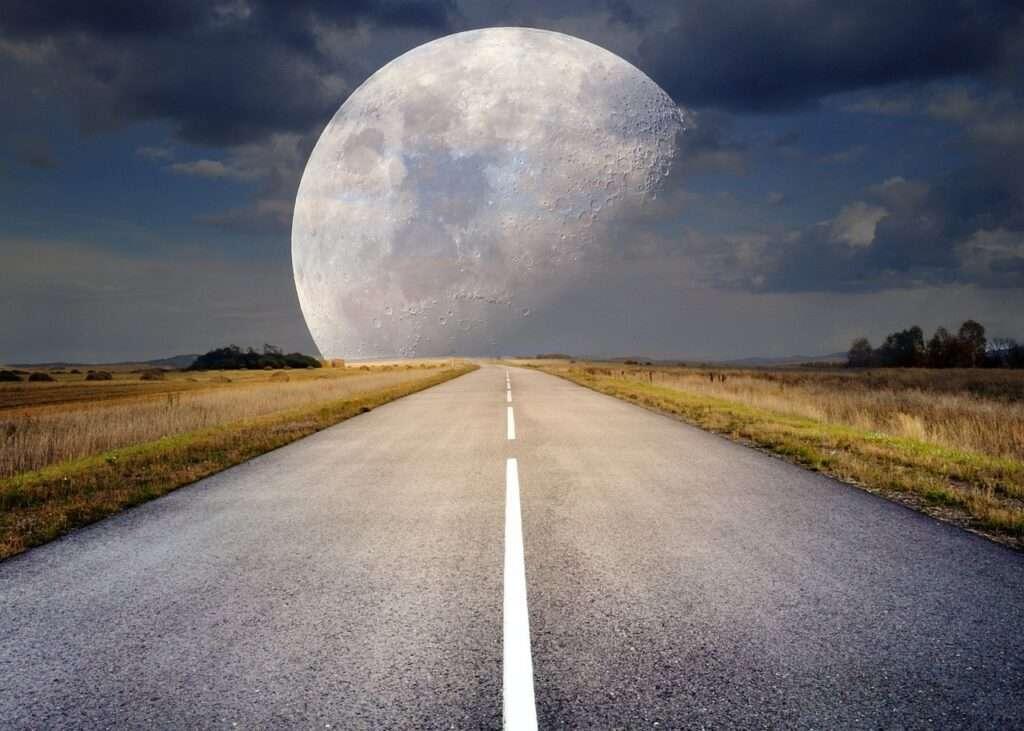 Moon, Sagittarius