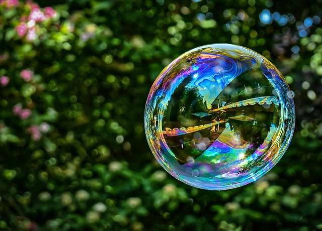 Aries, soap bubble