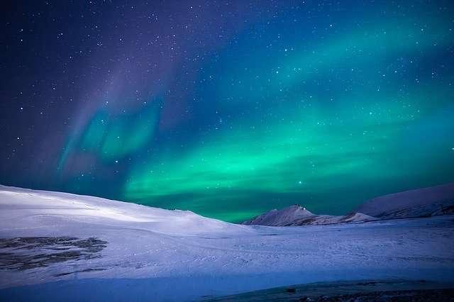 Aquarius October 2020, aurora