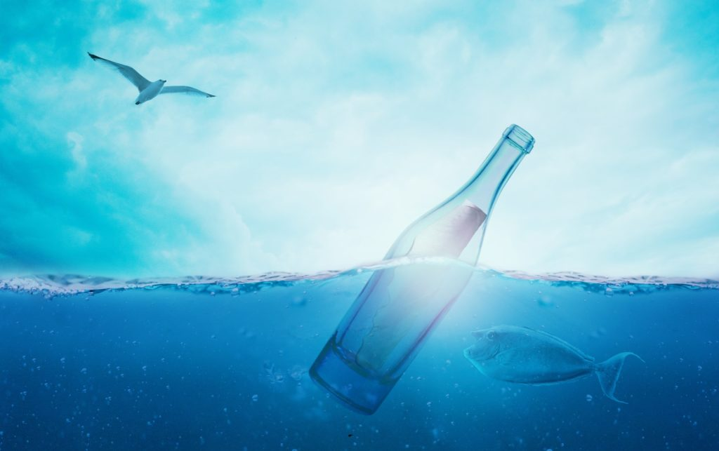 Gemini, monthly horoscope, message in a bottle