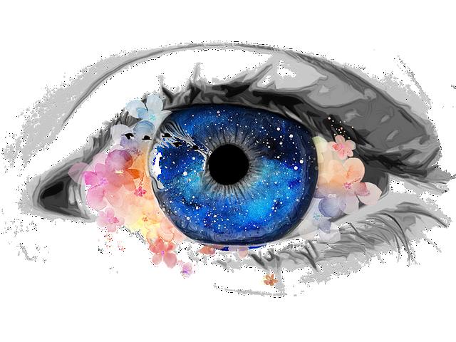 New Moon Pisces, eye, beauty